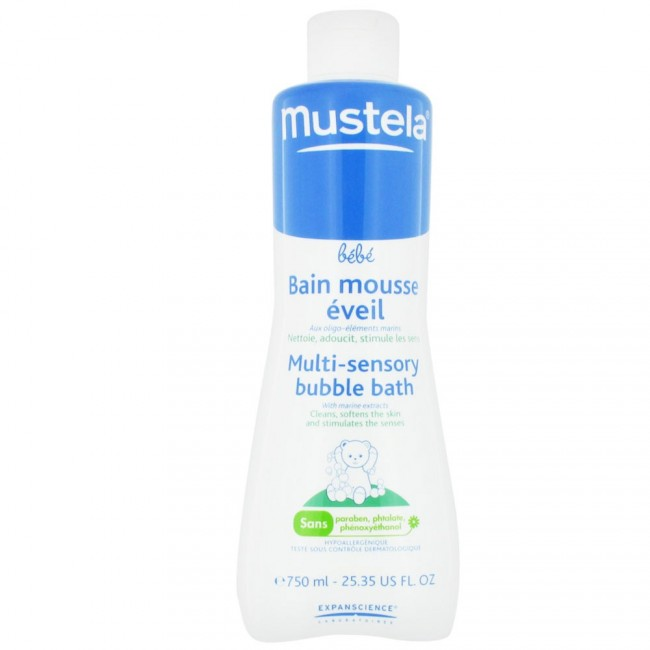 MUSTELA BABYGEL BAGNOSCHIUMA 750ML : 3504105007959