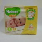 HUGGIES EXTRA CARE BEBE 3-6KG 24PZ : 5029053550275