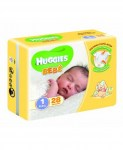 HUGGIES EXTRA CARE BEBE 2-5KG 28PZ : 5029053550305