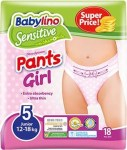BABYLINO PANTS GIRL JUNIOR 12-18KG 18PZ : 5201263089183