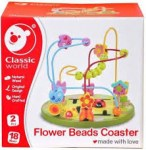 CLASSIC FLOWER BEADS COASTER : 6927049001796