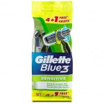 GILLETTE BLUE 3 SENSITIVE USA E GETTA 5P : 7702018011551
