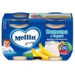 MELLIN BANANA E YOGURT 2X120GR : 8000050534106