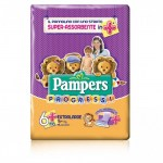 PAMPERS PROGRESSI 6  EXTRALARGE,PAMPERS,722707666,8001480076662,ekarma.it