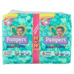 PAMPERS B/D P.SCORTA  EXTRALARGE X38 : 8001480087439