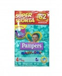PAMPERS BABY DRY SUPER BAG 4 MAXI : 8001480089204