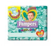 PAMPERS BABY DRY TRIOPACK 6 EXTRALARGE : 8001480093621