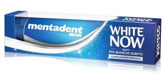 MENTADENT WHITE NOW DENTIFRICIO 75ML : 8712561437103