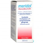 MERIDOL COLLUTTORIO CLOR.0,2% 300ML : 8714789929484